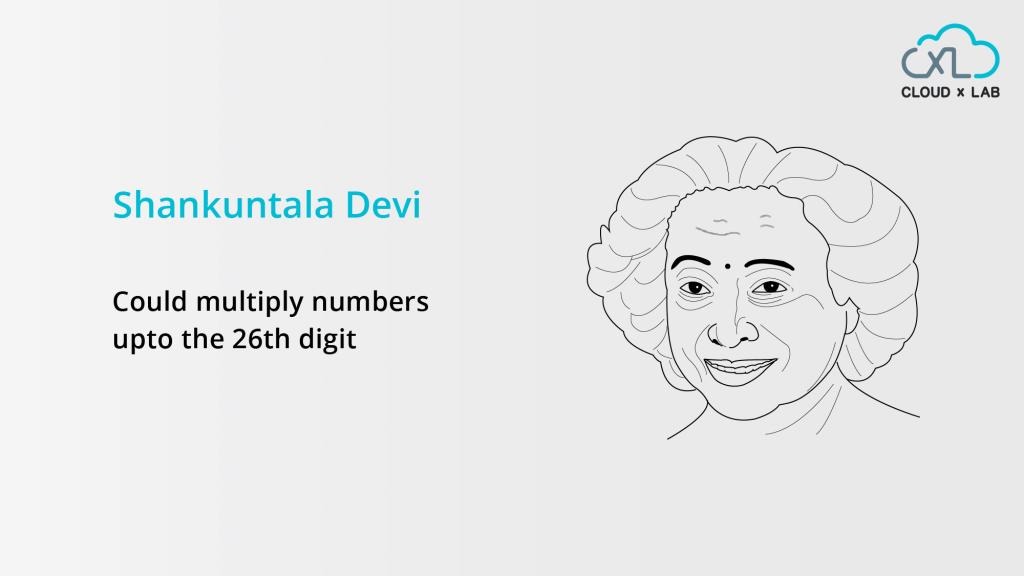 Shakuntala Devi, Indian Mathematician