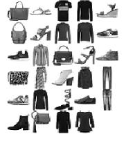 Fashion-MNIST dataset sample images