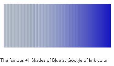 41 shades of blue at Google